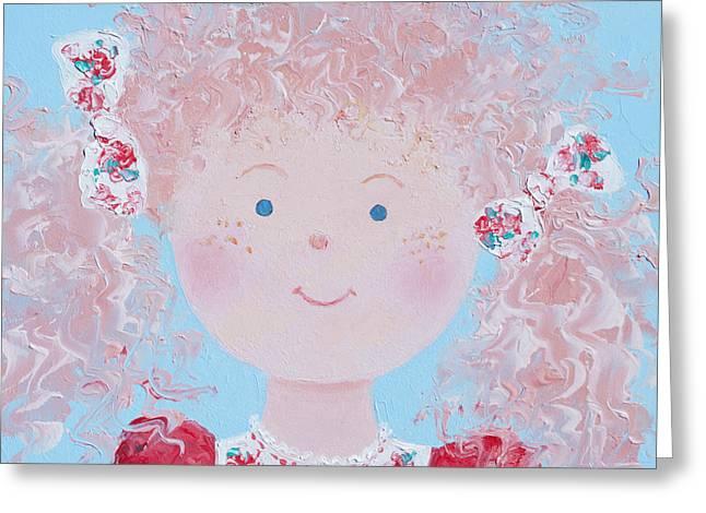 Scarlet Greeting Card by Jan Matson