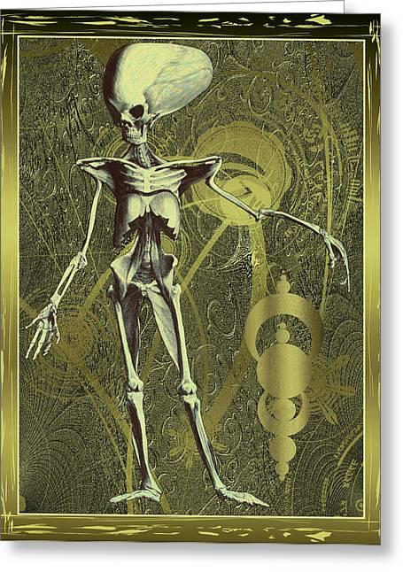 Sceletus Alienum Greeting Card