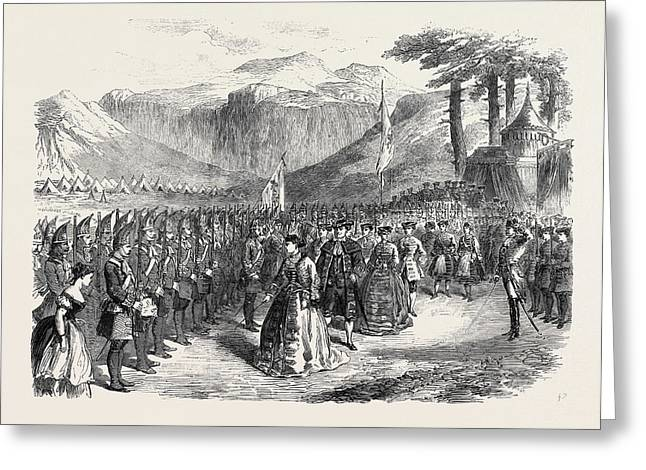 Scene From The Grand Duchess Of Gerolstein At The Royal Greeting Card