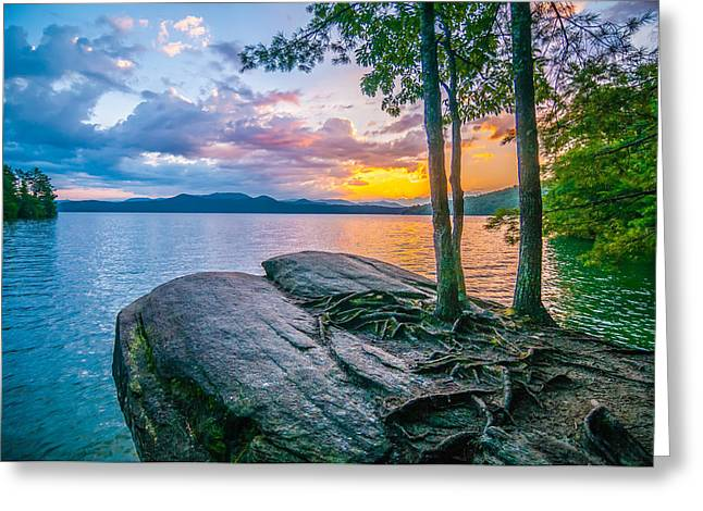 Scenery Around Lake Jocasse Gorge Greeting Card by Alex Grichenko
