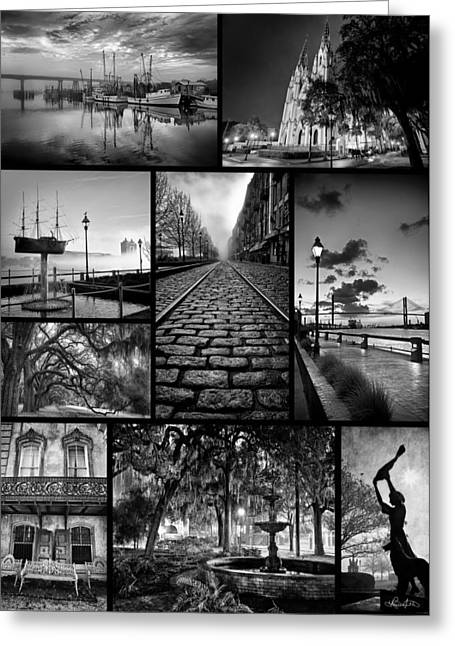 Scenes From Savannah Greeting Card