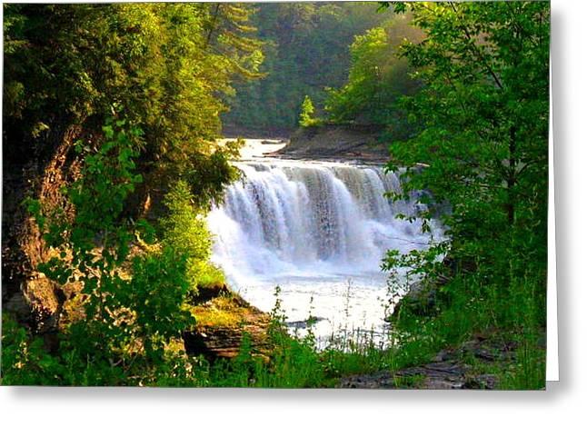 Scenic Falls Greeting Card