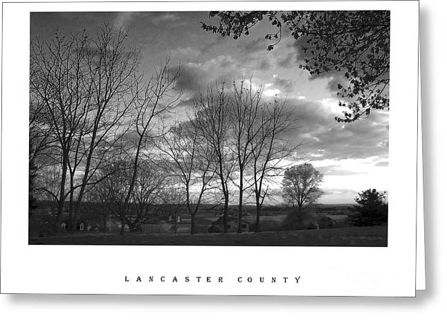 Scenic Lancaster County Greeting Card
