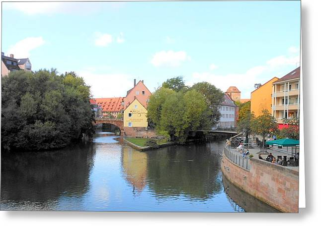 Scenic Nuremberg Greeting Card by Kay Gilley