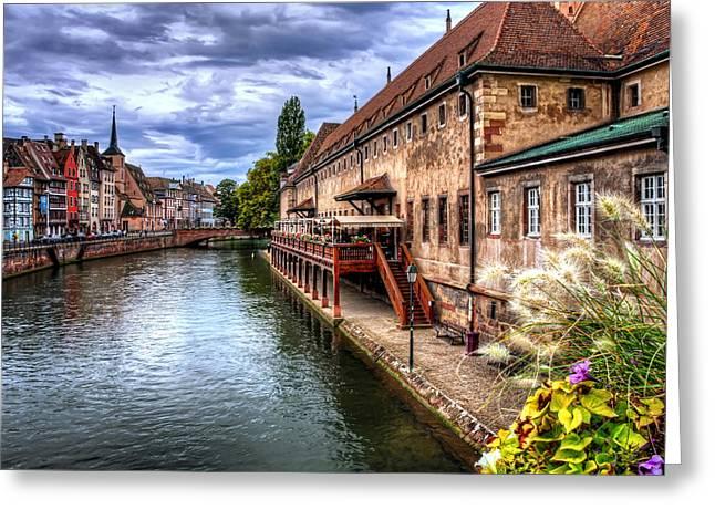 Scenic Strasbourg  Greeting Card
