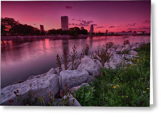 Scenic Sunset Greeting Card