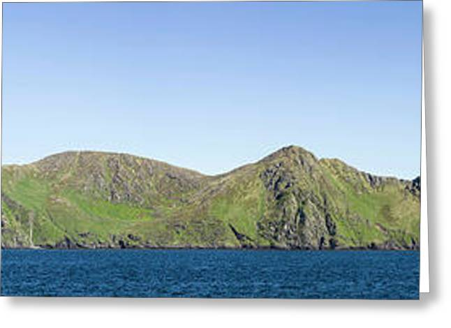 Scenic View Of Barren Islands Greeting Card