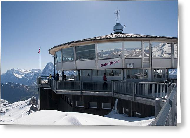 Schilthorn Greeting Card
