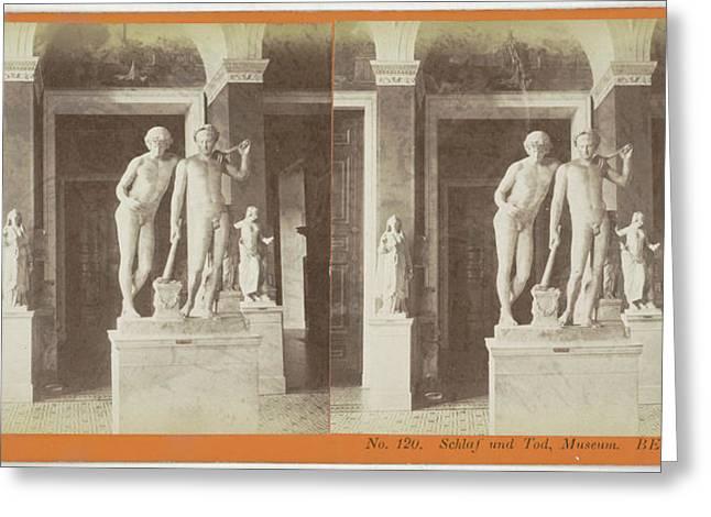 Schlaf Und Tod, Museum Berlin, Germany, Johann Friedrich Greeting Card by Artokoloro