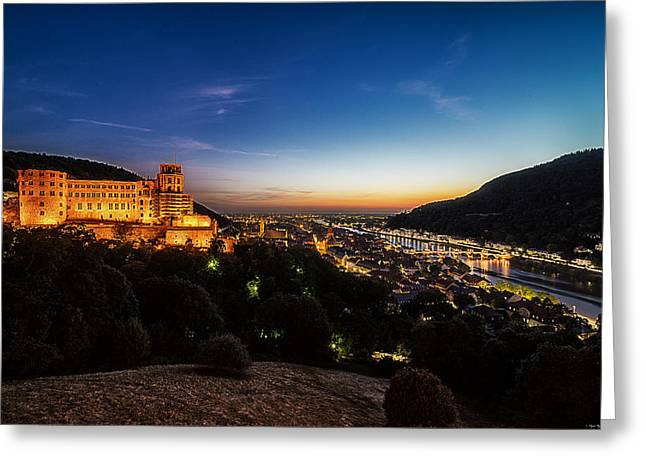 Schloss Heidelberg Greeting Card