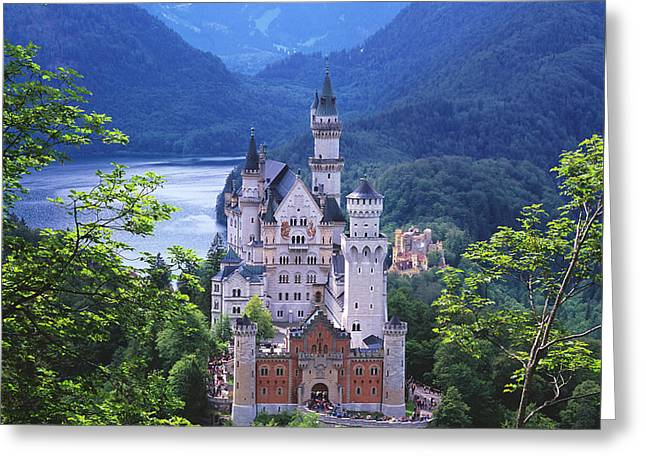 Schloss Neuschwanstein Greeting Card by Timm Chapman