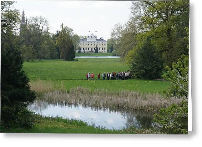 Schloss Woerlitz Greeting Card by Olaf Christian