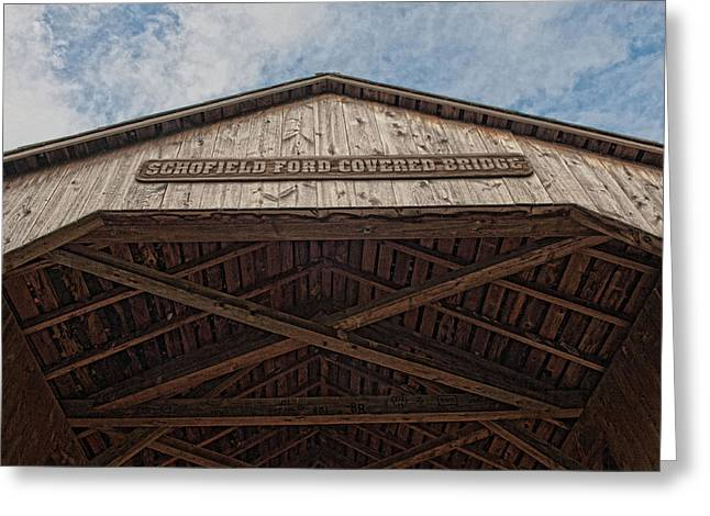 Schofield Ford Covered Bridge Greeting Card