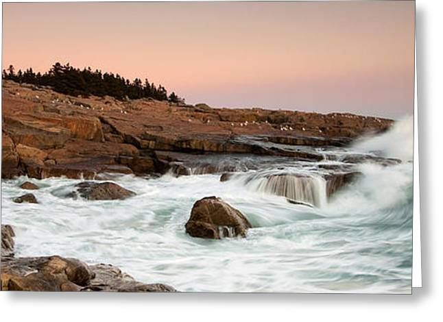 Schoodic Point - Acadia National Park Greeting Card