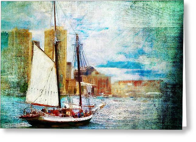 Schooner Bay Greeting Card