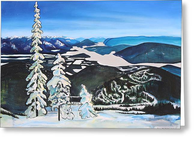 Schweitzer View Greeting Card