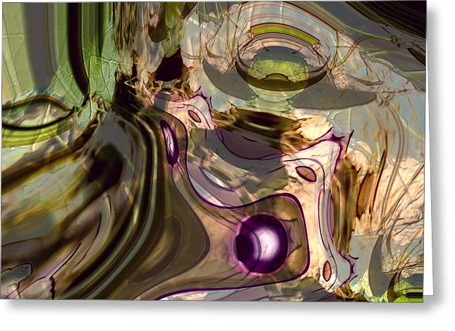 Greeting Card featuring the digital art Sci-fi Fury by Richard Thomas