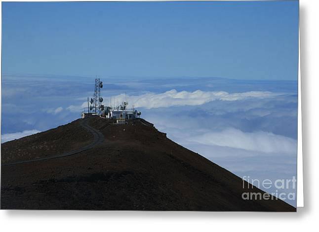 Science City Haleakala Greeting Card