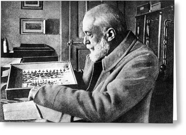 Scientist Auguste Forel Greeting Card by Underwood Archives