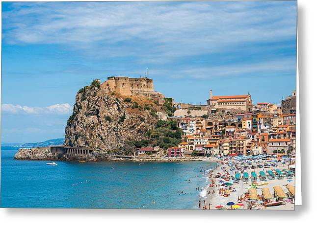 Scilla Castle Greeting Card by Gurgen Bakhshetsyan
