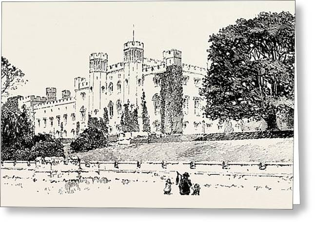 Scone Palace, Perth, Uk. Scone Palace Is A Category Greeting Card by Georgian School