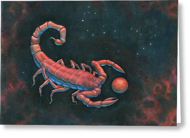 Scorpius Greeting Card