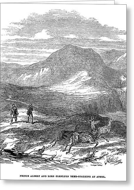 Scotland Glenlyon, 1844 Greeting Card by Granger