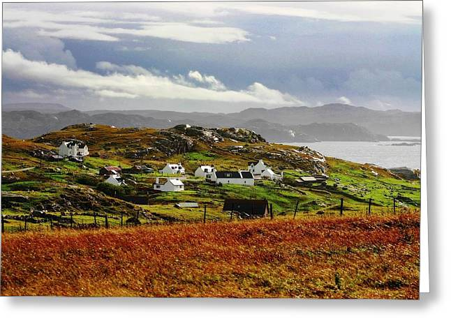 Scotland Hamlet Greeting Card by Henry Kowalski