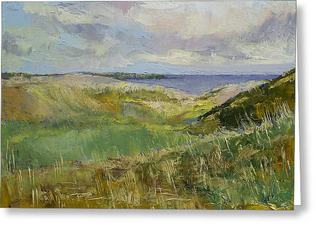 Scotland Landscape Greeting Card by Michael Creese