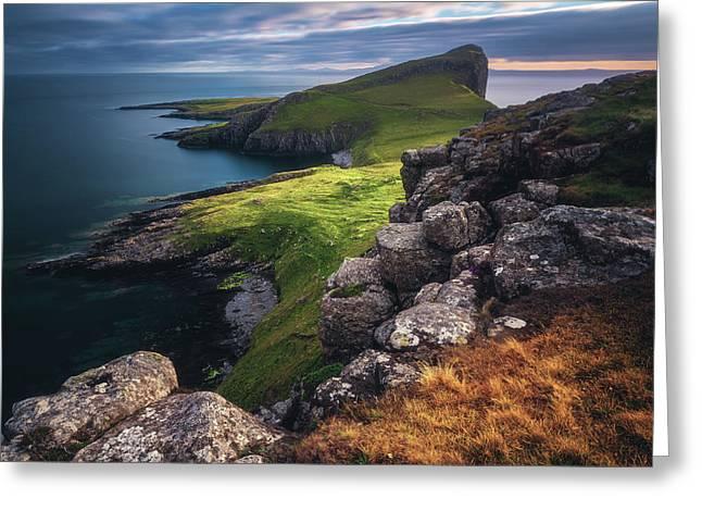 Scotland - Neist Point Greeting Card