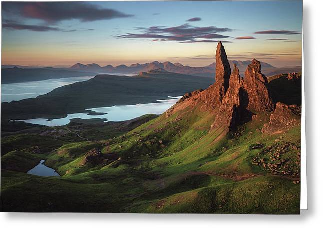 Scotland - Old Man Of Storr Greeting Card