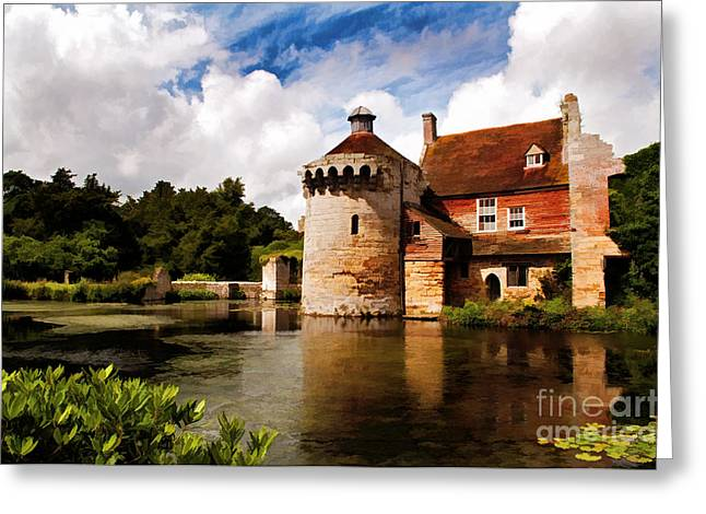 Scotney Castle Greeting Card
