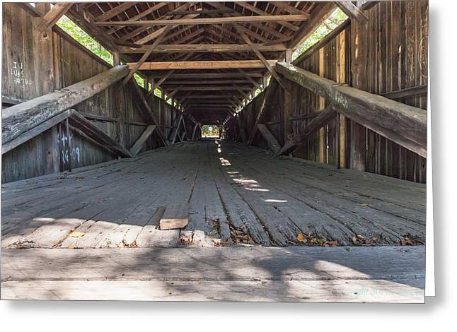 Scott Covered Bridge Greeting Card