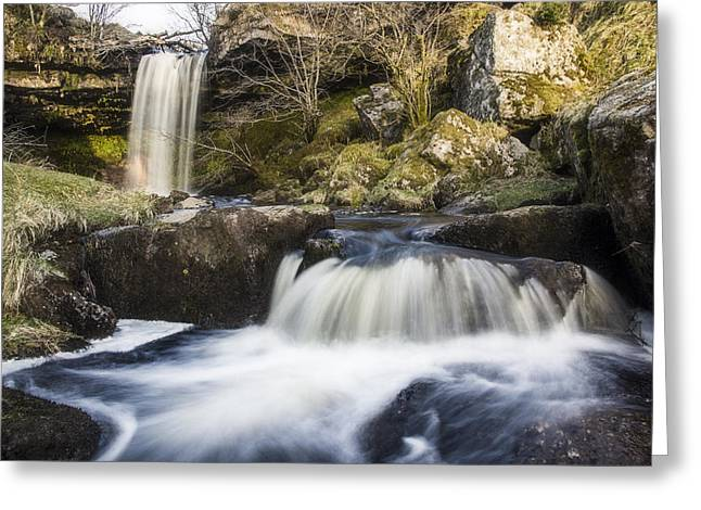 Scottish Falls Greeting Card
