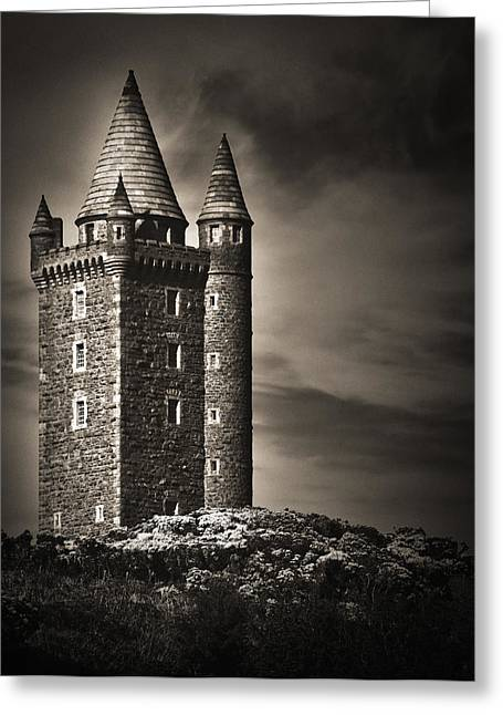 Greeting Card featuring the photograph Scrabo Tower Newtownards County Down by Jane McIlroy