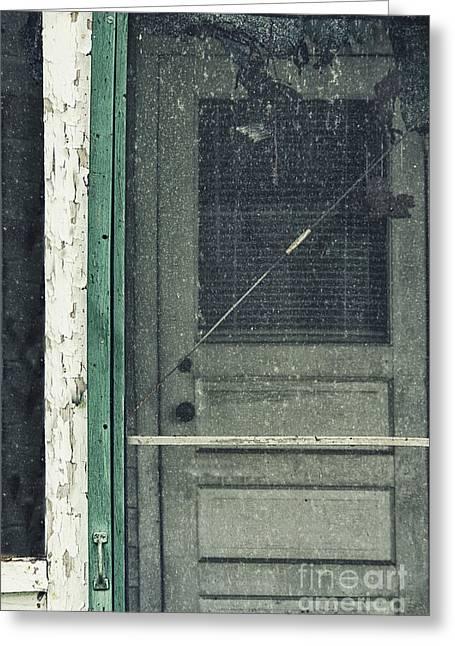 Screen Door Greeting Card by Margie Hurwich