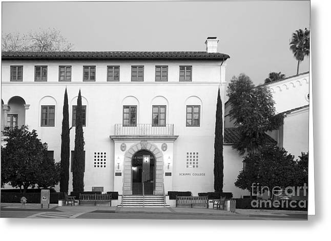 Scripps College Greeting Card by University Icons