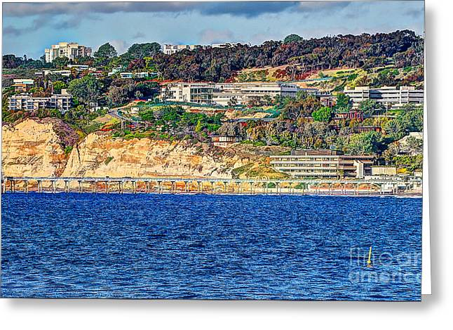 Scripps Institute Of Oceanography Greeting Card