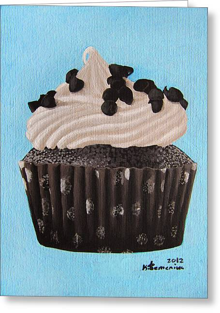 Scrumptious Greeting Card by Kayleigh Semeniuk