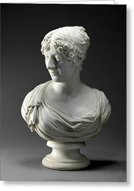 Sculpture, Charlotte Greeting Card by Litz Collection