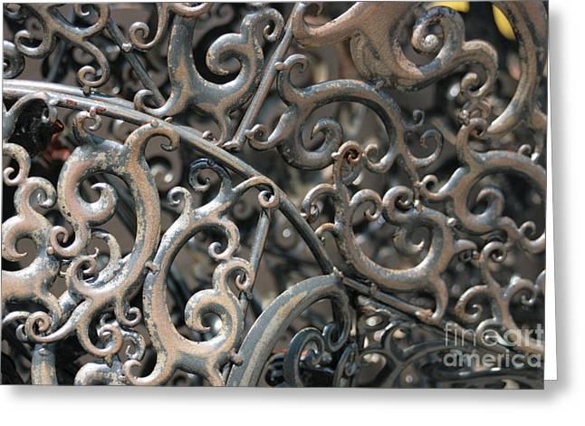Sculpture Detail  Greeting Card