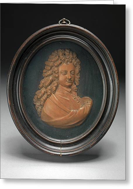 Sculpture, Profile Portrait Of William Congreve Greeting Card by Litz Collection