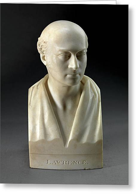 Sculpture, Sir Thomas Lawrence, P.r.a Greeting Card by Litz Collection