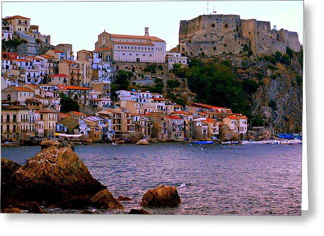 Scylla Italy Greeting Card