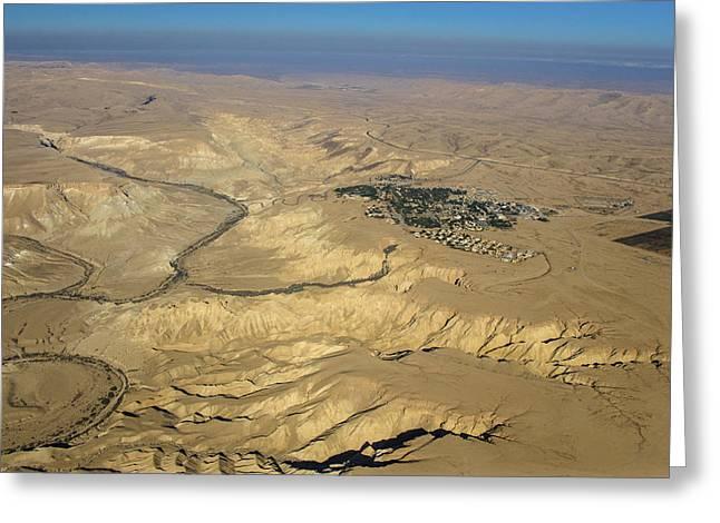 Sde Boker, Negev Desert Greeting Card
