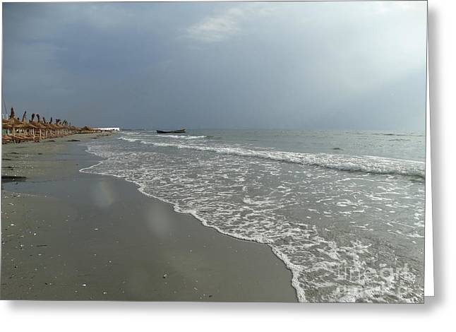 Sea After Storm Greeting Card by Dan Marinescu