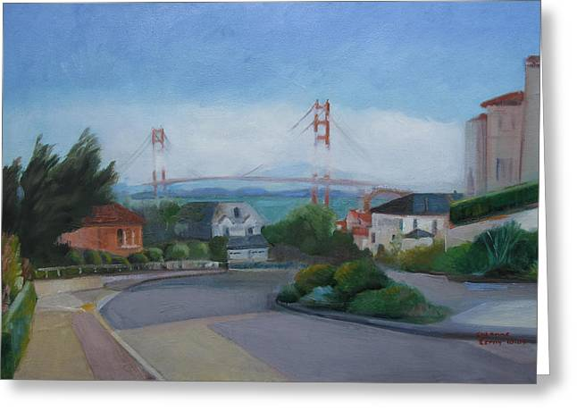 Sea Cliff Area San Francisco  Greeting Card
