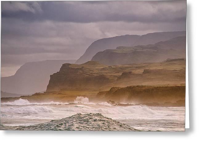 Sea Cliffs Greeting Card