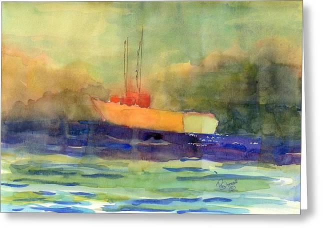 Sea Farer Greeting Card by Marsden Burnell