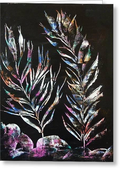 Sea Ferns Greeting Card